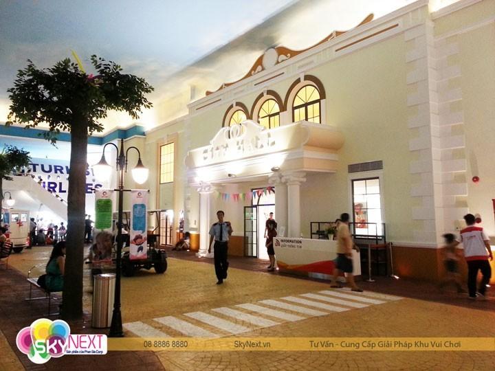 Vietopia là khu vui chơi trong nhà lớn nhất Việt Nam